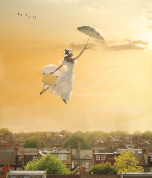 Mary Poppins by Cinnamoncandy