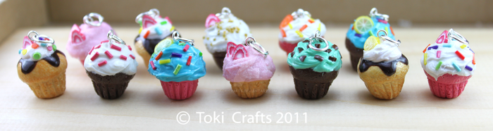 Cupcakes are pretty by TokiCrafts