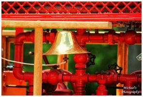 The Brass Bell On A REO Firetruck by TheMan268