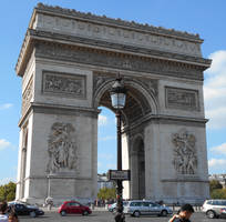 Arc de Triomphe by rittie145