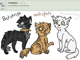 Answer 21: Bone's Kits by ask-female-scourge