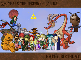 Happy Birthday Zelda by Master1892