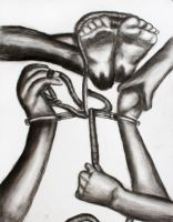 Shackled and Tied by Arius-Xanatos