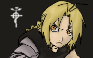 Ed Elric by sabbocheek