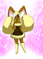 Hana-Chan the Lopunny by PlatinaSena