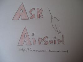 Logo comission: Ask Airswirl by SonicAmp