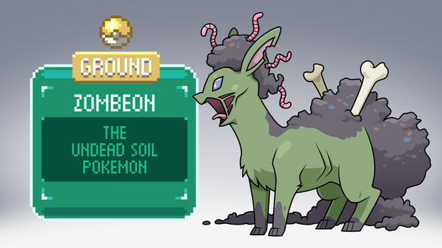 The Other Eevee Evolutions: Zombeon by ClubAdventure