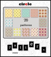 circle color patterns . by w-melon