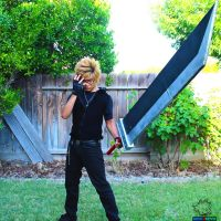 Cloud Strife Cosplay Incomplete 3 by sonicJKevin