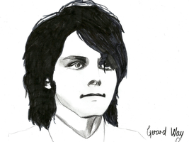 Gerard Way drawing scanned in by MyChemicalRomance01