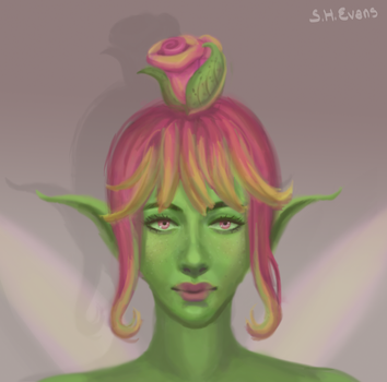 Plant Fairy by shevans