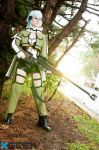 Sinon from SAO cosplay - Ready for action by Rinkujutsu
