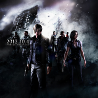 Resident Evil 6 - CG Main Illustration Cover by Therealmrox2