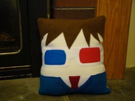 David Tennant Doctor Who pillow by Telahmarie