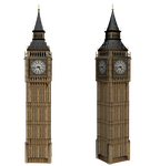 Big Ben Clock png stock by mysticmorning