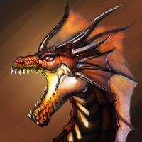 red dragon icon 2 by badfatdragon