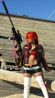 Yoko - Gurren Lagann - Fighting Stance by shadowhearts