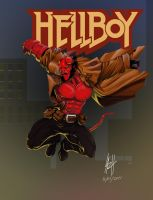 HELLBOY by LaRhsReBirTh