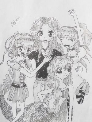 Me and my main first oc's i ever made by PieChan34-Creations