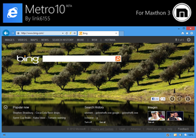 Metro10 BETA for Maxthon 3 by link6155