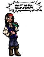 Cartoon Jack Sparrow by Oniwolf12