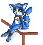 Krystal Chibi by MattTheUmbreon