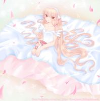 Chii - Pink Petals by Frootyness