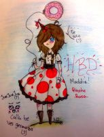 TDZ: Happy Birthday Maddie! by MadPan-Inc