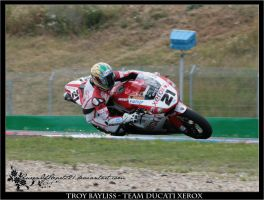Brno- Troy Bayliss makes Spark by QueenOfHearts21