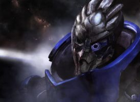 Mass Effect - Garrus Vakarian by TheRiki