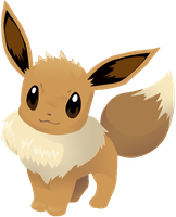 Eevee Vector Lineless: 133 by AgentLiri