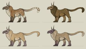 new creature - colour and pattern test by FabrizioDeRossi