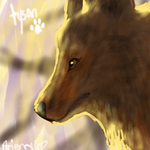 tyson thee wolf by owlclover