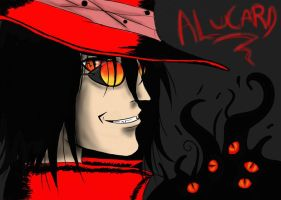 Alucard -The No Life King by l3lue-Kat