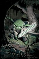 yoda finished and colored by stevesafir