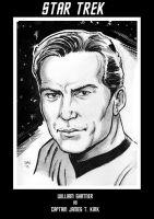 Captain James T. Kirk by Simon-Williams-Art