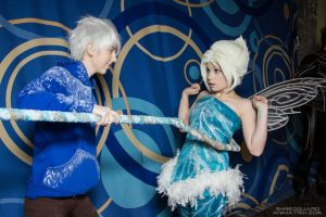 Periwinkle and Jack Frost by Perevinkl