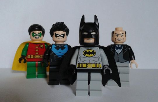 Bat-family (1) by Anonyme003