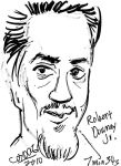 Caricature - Robert Downey Jr. by amberchrome