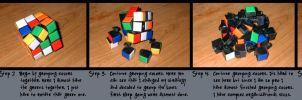 How To Solve A Rubiks Cube by squashtech