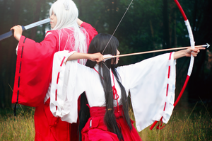 Inuyasha::In a Battle by chuongtu