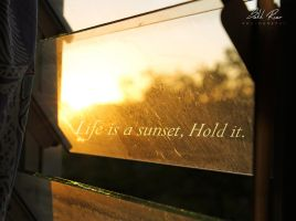 Life is a Sunset by SukhRiar