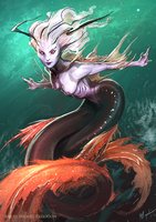 Mermaid by MiguelRegodon