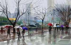 Raining Day by zhuzhu