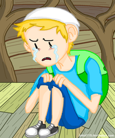 Crying Finn by Hat-Kid