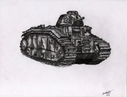 captured char b1 bis by shank117