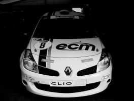Clio Cup - Black and White by TVRfan