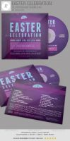 Easter Celebration CD Artwork Template by loswl