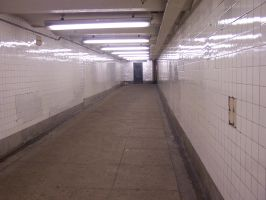 Subway Walkway by OutoftheChelle
