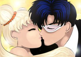 Sailor Moon Kisses by Christa27